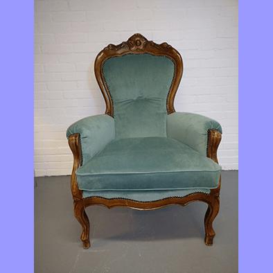 Barok stoel 1 for Barok stoel