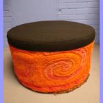 Poef Oranje