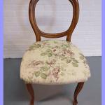 Zitting stoel Bloemen