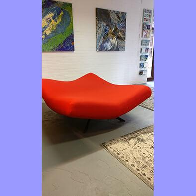 Arflex sofa opnieuw bekleed