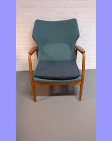 Deens design stoel '50 opnieuw bekleed