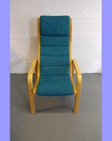 Deens design stoel opnieuw bekleed