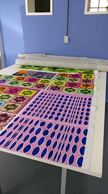 Meubelstoffen met eigen print